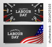 happy labour day background...   Shutterstock .eps vector #2016925103