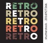 retro color design for t shirt  ...   Shutterstock .eps vector #2016927266