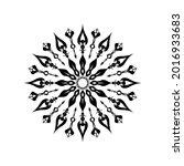 circular pattern mandala... | Shutterstock .eps vector #2016933683
