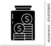 money color icon. saving cash...   Shutterstock .eps vector #2016933803