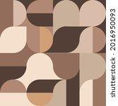 aesthetic geometric brochures . ... | Shutterstock .eps vector #2016950093