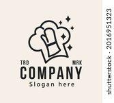 chef  restaurant logo design...   Shutterstock .eps vector #2016951323