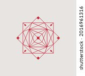 abstract line  minimalist ...   Shutterstock .eps vector #2016961316