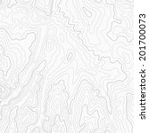 light topographic contour map... | Shutterstock .eps vector #201700073