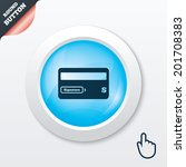 credit card sign icon. debit...