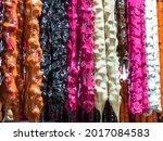 Close Up Of A Multicolored...