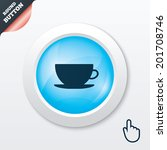 coffee cup sign icon. coffee...