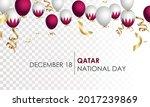 national qatar day  december 18 ...   Shutterstock .eps vector #2017239869