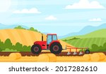 agriculture and farming. vector ...   Shutterstock .eps vector #2017282610