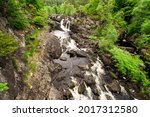 The Rogie Falls  A Series Of...