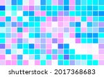 abstract mosaic with color... | Shutterstock .eps vector #2017368683