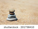 concept of balance and harmony. ... | Shutterstock . vector #201738410