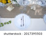 Detail Of Place At The Table On ...