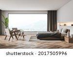 Interior With Panoramic View ...