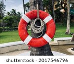 A Old Swim Ring For Lifesaver...