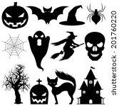 halloween symbols. | Shutterstock .eps vector #201760220