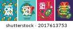 happy onam. religious festival... | Shutterstock .eps vector #2017613753