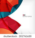 abstract geometric shapes... | Shutterstock .eps vector #201761630