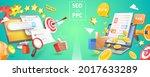 3d vector conceptual... | Shutterstock .eps vector #2017633289