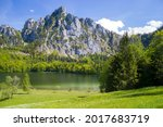 View On Lake Laudachsee And...