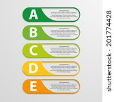 colorful infographic design on...