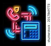 scan code detection neon light...   Shutterstock .eps vector #2017869773