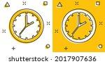 cartoon clock timer icon in...   Shutterstock .eps vector #2017907636