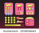 game ui funny nature pink...