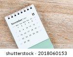November Calendar 2021 On...