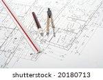 architecture plan | Shutterstock . vector #20180713