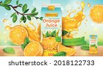 realistic detailed 3d orange...   Shutterstock .eps vector #2018122733