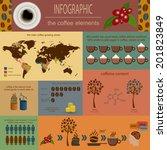 The Coffee Infographics  Set...