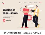 business concept flat style... | Shutterstock .eps vector #2018372426
