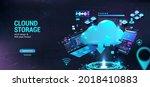 cloud technologies for download ... | Shutterstock .eps vector #2018410883