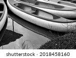 Canoes In Bangkok City Park