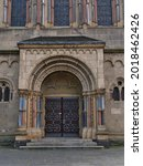 Symmetrical Front View Of...