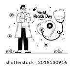 glyph line illustration of... | Shutterstock .eps vector #2018530916