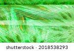 Silk Of Greenish Emerald Hue....