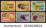 Fruits  Farm Market Price Cards ...