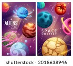 aliens zone and space odyssey....   Shutterstock .eps vector #2018638946