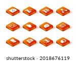 set share folder  file  data... | Shutterstock .eps vector #2018676119