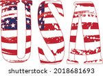 appy fourth of july.... | Shutterstock .eps vector #2018681693