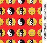 Smile Face And Yin Yang...