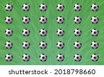background with green lawn... | Shutterstock .eps vector #2018798660