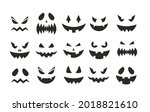 october party scary black... | Shutterstock .eps vector #2018821610