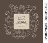 background with eringi  eringi...   Shutterstock .eps vector #2018843513