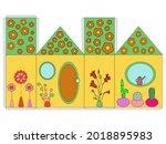 house paper  flowers model....   Shutterstock .eps vector #2018895983
