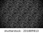 rose closeup background in... | Shutterstock . vector #201889813