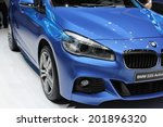 2014 bmw 2 series active tourer ... | Shutterstock . vector #201896320
