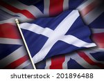 the flag of the united kingdom  ... | Shutterstock . vector #201896488